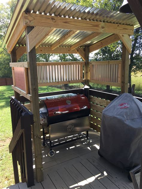 Diy Grill Station Design