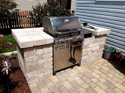 Diy Grill Surround