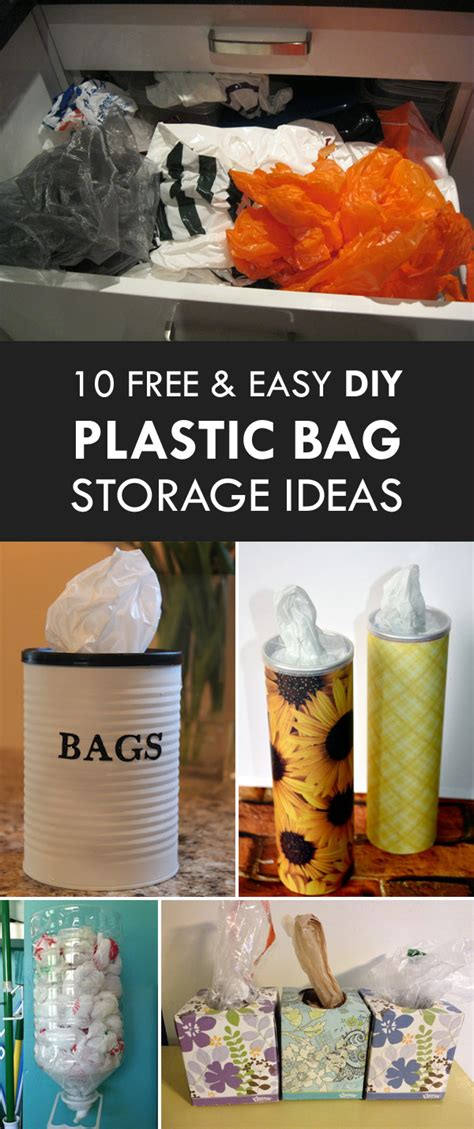 Diy Grocery Bag Container Idea