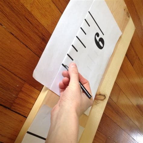Diy Growth Chart Printable Template