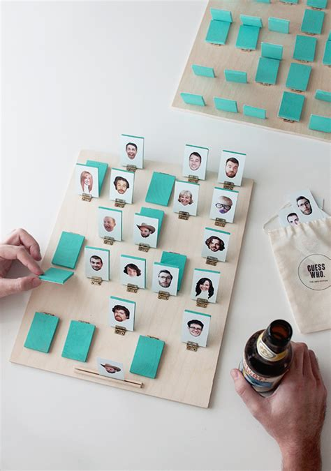 Diy Guess Who Board