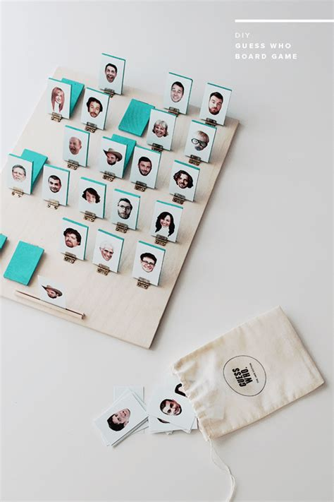 Diy Guess Who Game Board