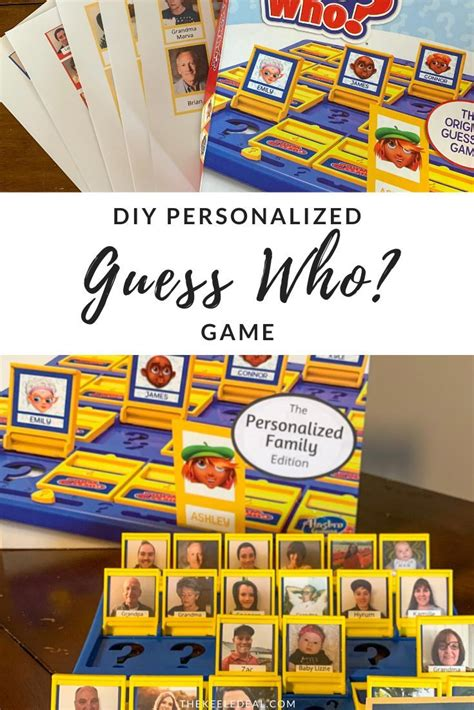 Diy Guess Who Game Print Out