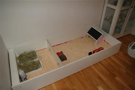Diy Guinea Pig Cage Wooden