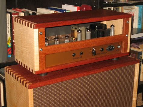 Diy Guitar Amp Head Cabinet