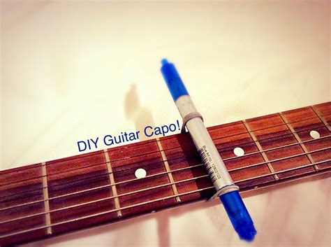 Diy Guitar Capo