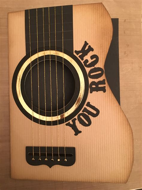 Diy Guitar Card