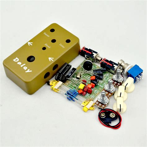 Diy Guitar Effects Pedal Kits