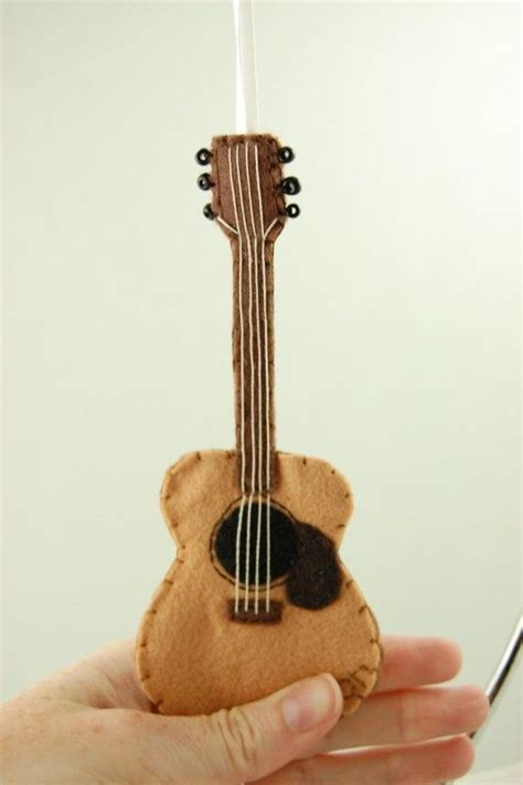 Diy Guitar Ornament
