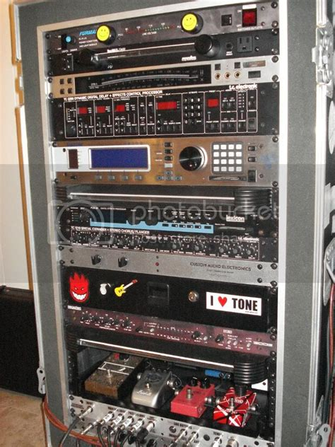 Diy Guitar Pedal Rack Drawer