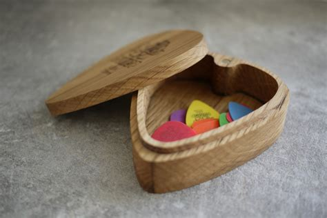 Diy Guitar Pick Storage Box