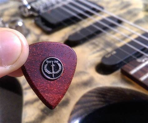 Diy Guitar Picks Wood