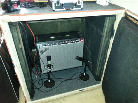 Diy Guitar Speaker Isolation Cabinet