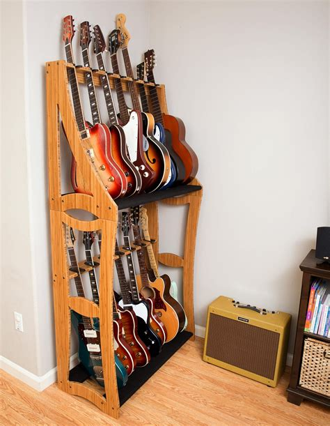 Diy Guitar Stand Rack