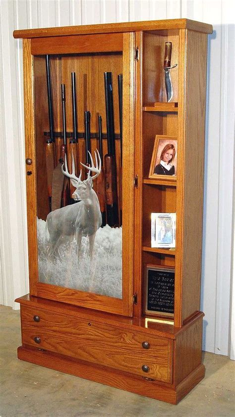 Diy Gun Cabinet For Sale