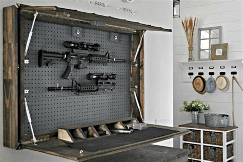 Diy Gun Wall Safe