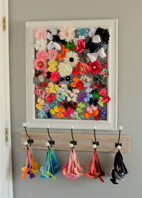 Diy Hair Bow Rack