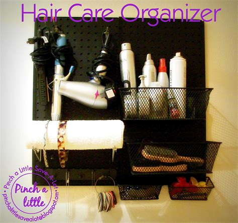 Diy Hair Care Storage