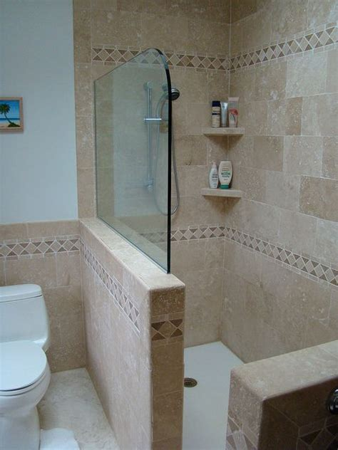 Diy Half Wall For Shower Stall