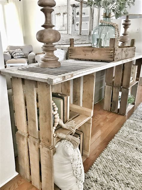 Diy Hall Console Table