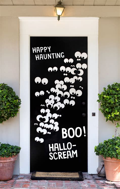 Diy Halloween Door Covers