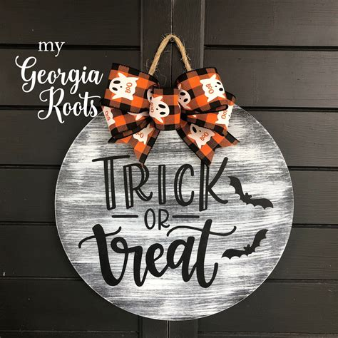 Diy Halloween Door Signs