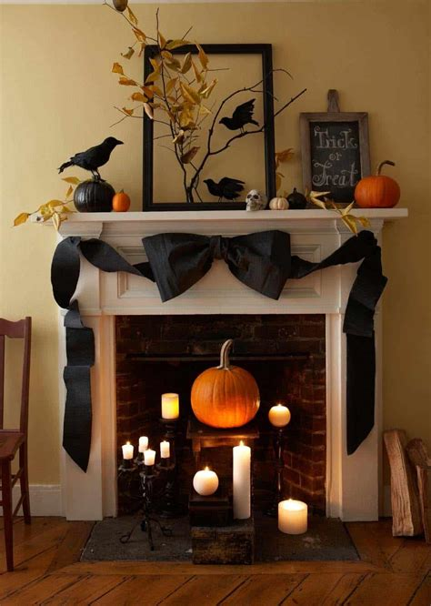 Diy Halloween Mantel Ideas