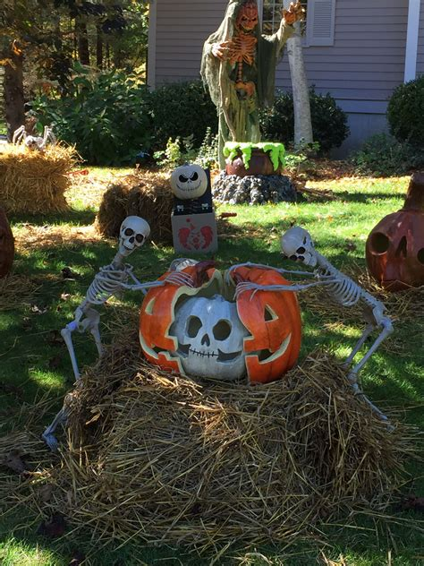 Diy Halloween Yards