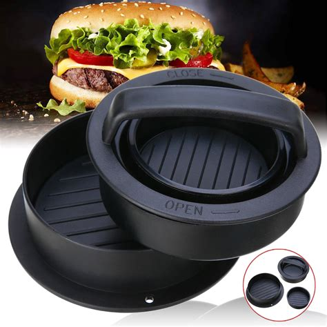 Diy Hamburger Patty Press
