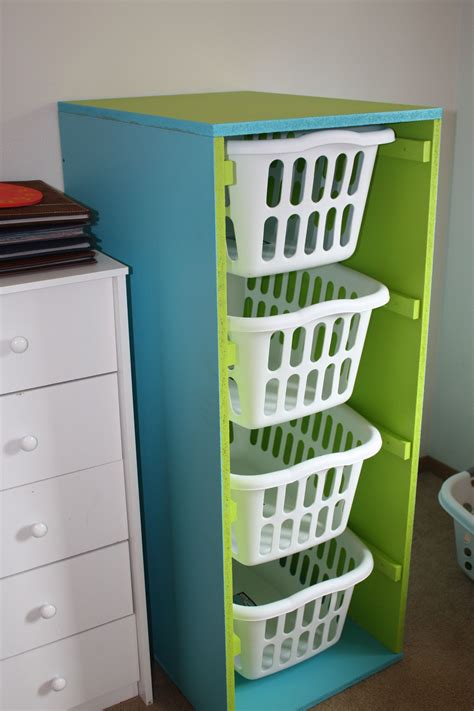 Diy Hamper Shelf