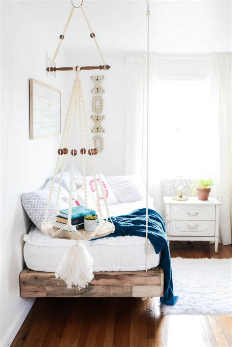 Diy Hanging Bed Free Plans For Girls Room