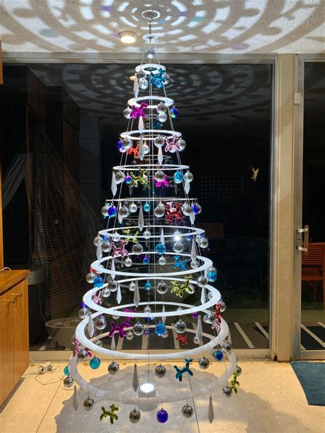 Diy Hanging Foldable Christmas Tree