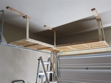 Diy Hanging Garage Storage Racks