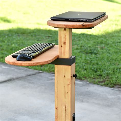 Diy Hanging Standing Desk