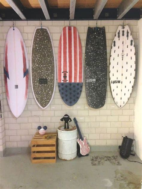 Diy Hanging Surfboard Rack