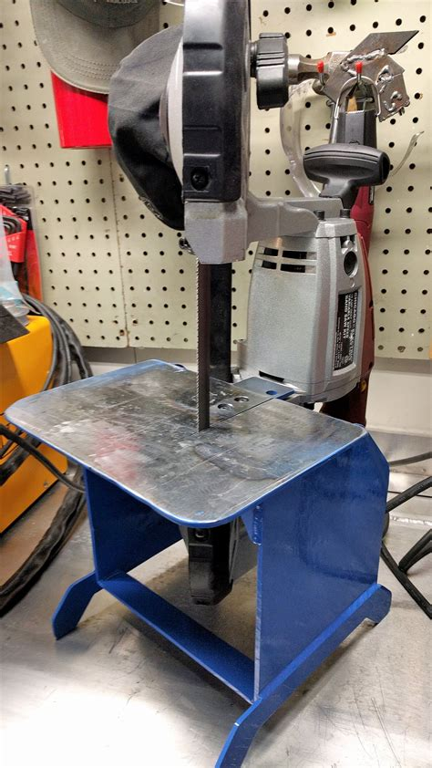 Diy Harbor Freight Bandsaw Stand With Wheels