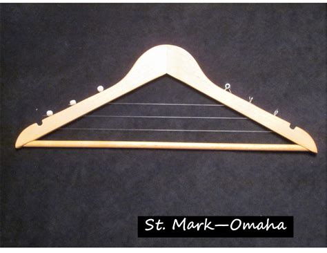 Diy Harp From Wooden Clothes Hanger Video