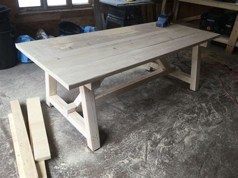 Diy Harvest Table Plans