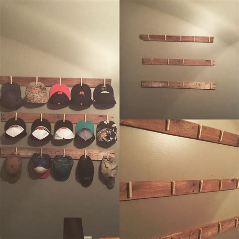 Diy Hat Rack Pinterest