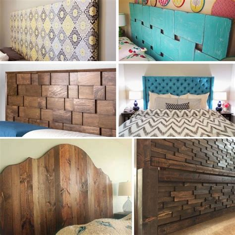 Diy Headboard Ideas For King Beds