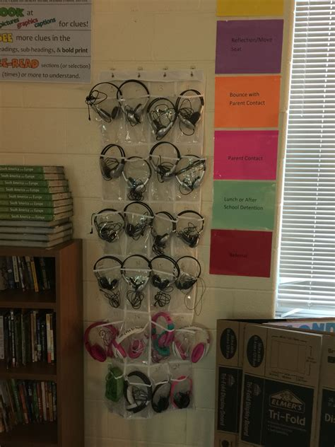 Diy Headphones Storage For Classroom