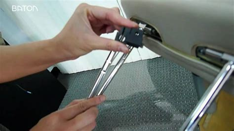 Diy Headrest Screen Cover