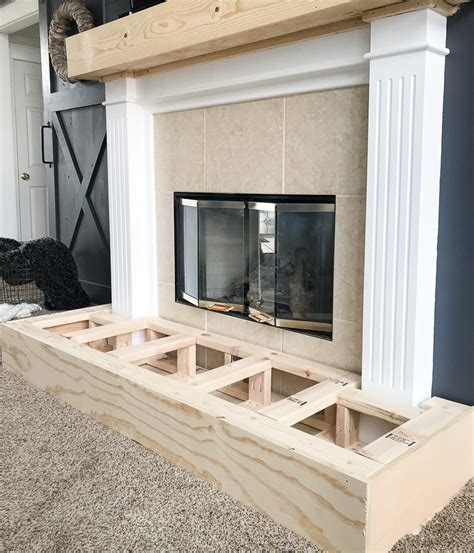 Diy Hearth Frame