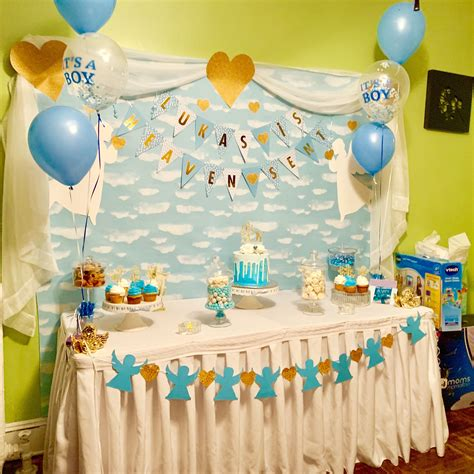 Diy Heaven Sent Party Theme