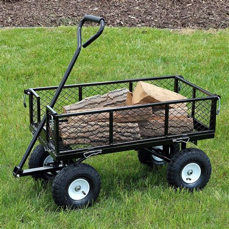 Diy Heavy Duty Yard Cart