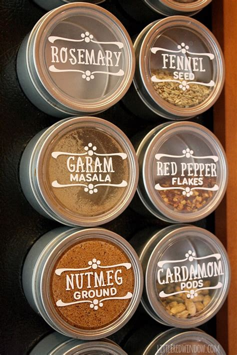 Diy Herb Labels