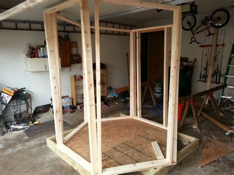 Diy Hexagon Deer Blind