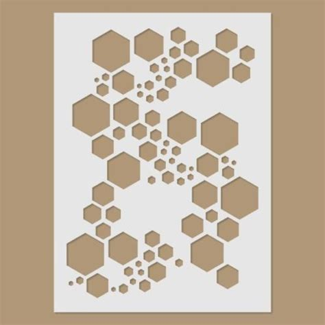 Diy Hexagon Stencil