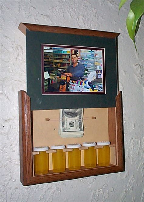 Diy Hidden Compartment Picture Frame
