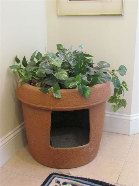 Diy Hidden Litter Box Planter